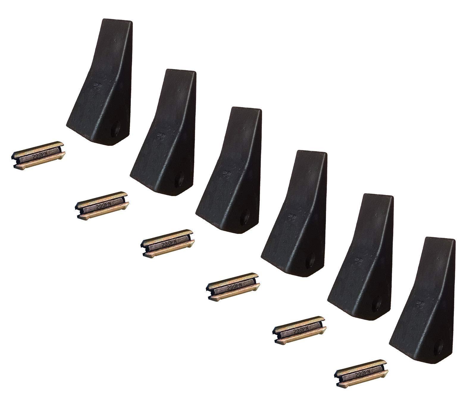 230 Backhoe // Skid Bucket Tooth 230S, 230HX 230HXL 4 23