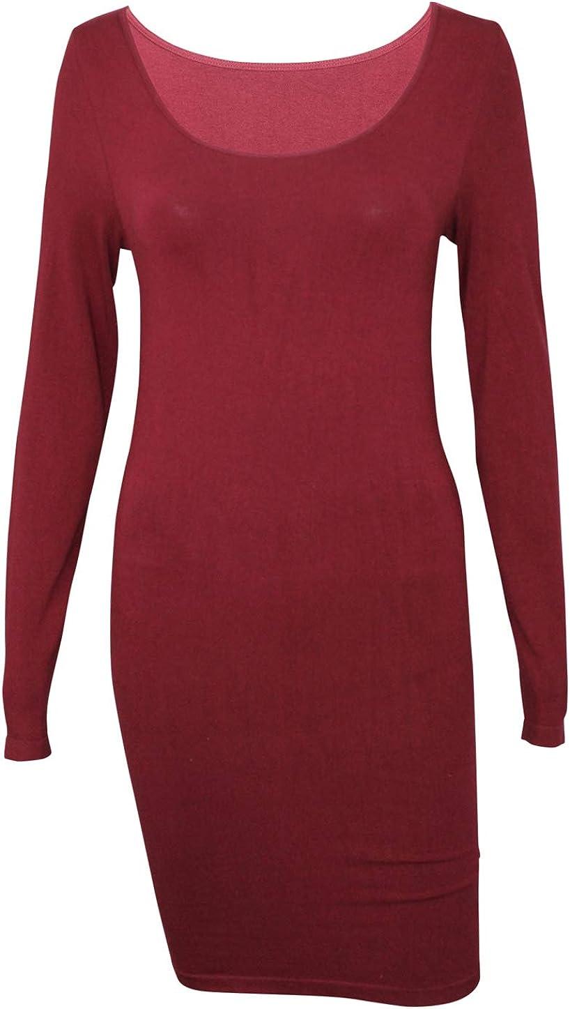 m. rena Langärmeliges Tunika-Kleid für Damen - Tunika Kleid
