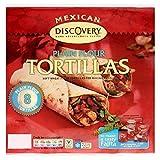 Santa Maria Mexican Plain Flour Tortillas (8 per pack) - Pack of 2