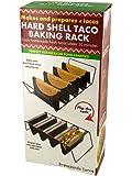 Kole Hard Shell Taco Baking & Preparation Rack