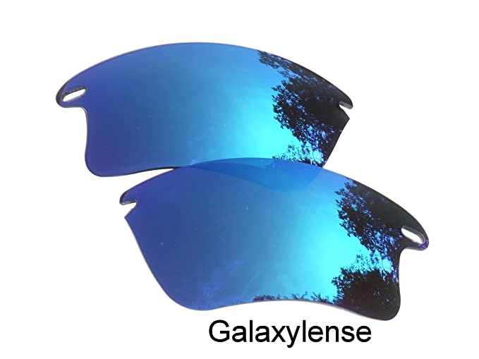 3077d84373 Galaxy Replacement Lenses for Oakley Fast Jacket XL Blue Color  Polarized