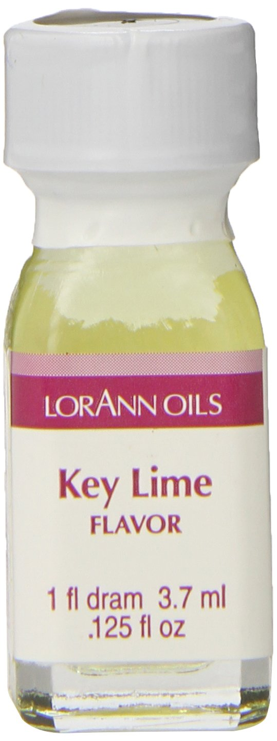 Lorann Oils Key Lime Oil Natural Concentrated Food Flavor, .125 Ounce