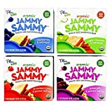 Plum Organics Jammy Sammy Bars Bundle: 1 Box of Each