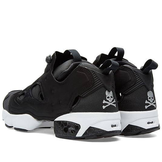 d295586afff Reebok x Mastermind Japan Instapump Fury - Blk White Slvr Trainer   Amazon.co.uk  Shoes   Bags