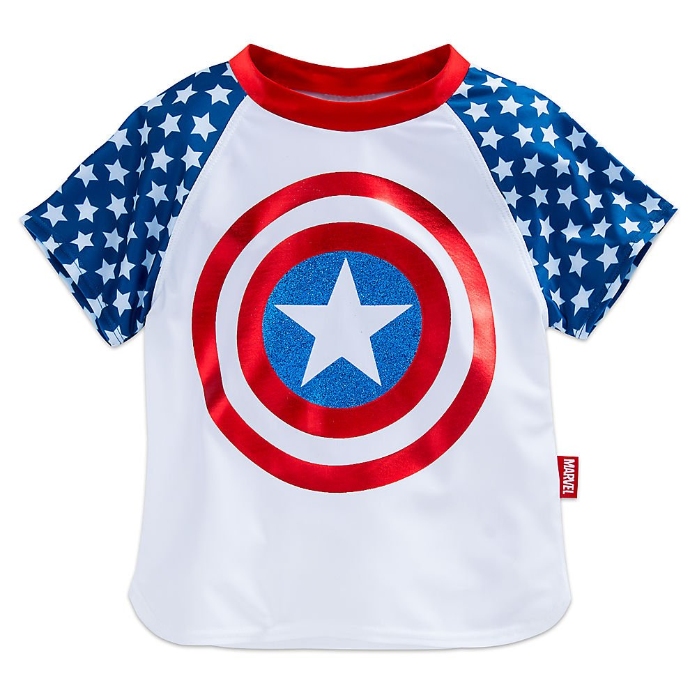 Amazon.com: Marvel Capitán América Swim Set para las niñas ...