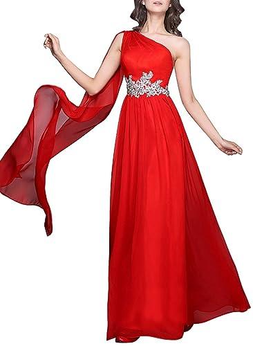 JY Women's One Shoulder Evening Dresses Formal Dresses Prom Dresses