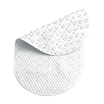 Tapis De Bain Bath Mat Made Of Pvc Material Available In White