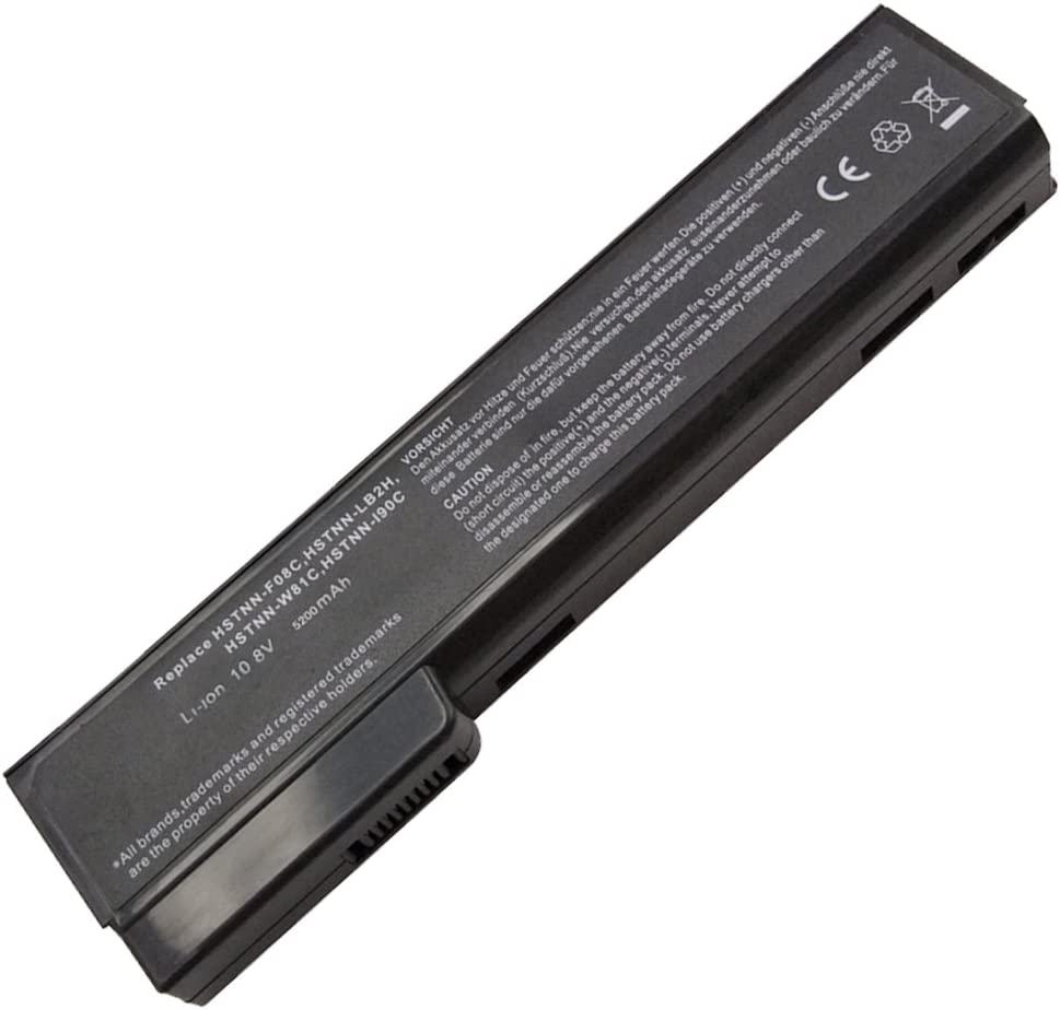 Bay Valley Parts 6 Cell Laptop Battery for HP Elitebook 8460p 8460w 8560p 8570p ProBook 6360b 6460b 6560b 6570b, fit cc06 cc06xl cc09 628666-001 628668-001 628670-001 Notebook Battery - 12 Months Warr