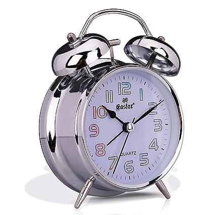 Amazon.com: Foxs Metal Precise Laser Alarm Clock Mute 3 ...