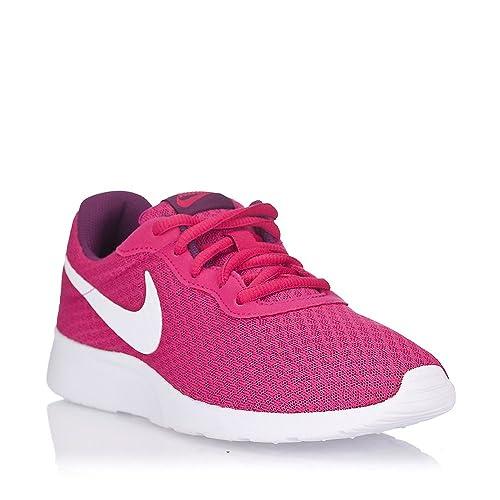 Nike Tanjun - Zapatillas para Mujer, Color Fucsia/Blanco, Talla 41: Amazon.es: Zapatos y complementos