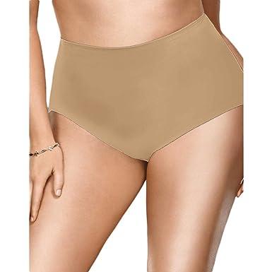 2df98fc2f9 Flexees® Women Plus Size Brief Nude 7XL Flexees® Women Plus Size Brief at  Amazon Women s Clothing store