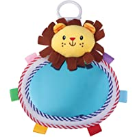 TOYANDONA 1Pc Baby Mirror Toy, Hanging Lion Floor Activity Mirror Developmental Baby Toy for Newborns