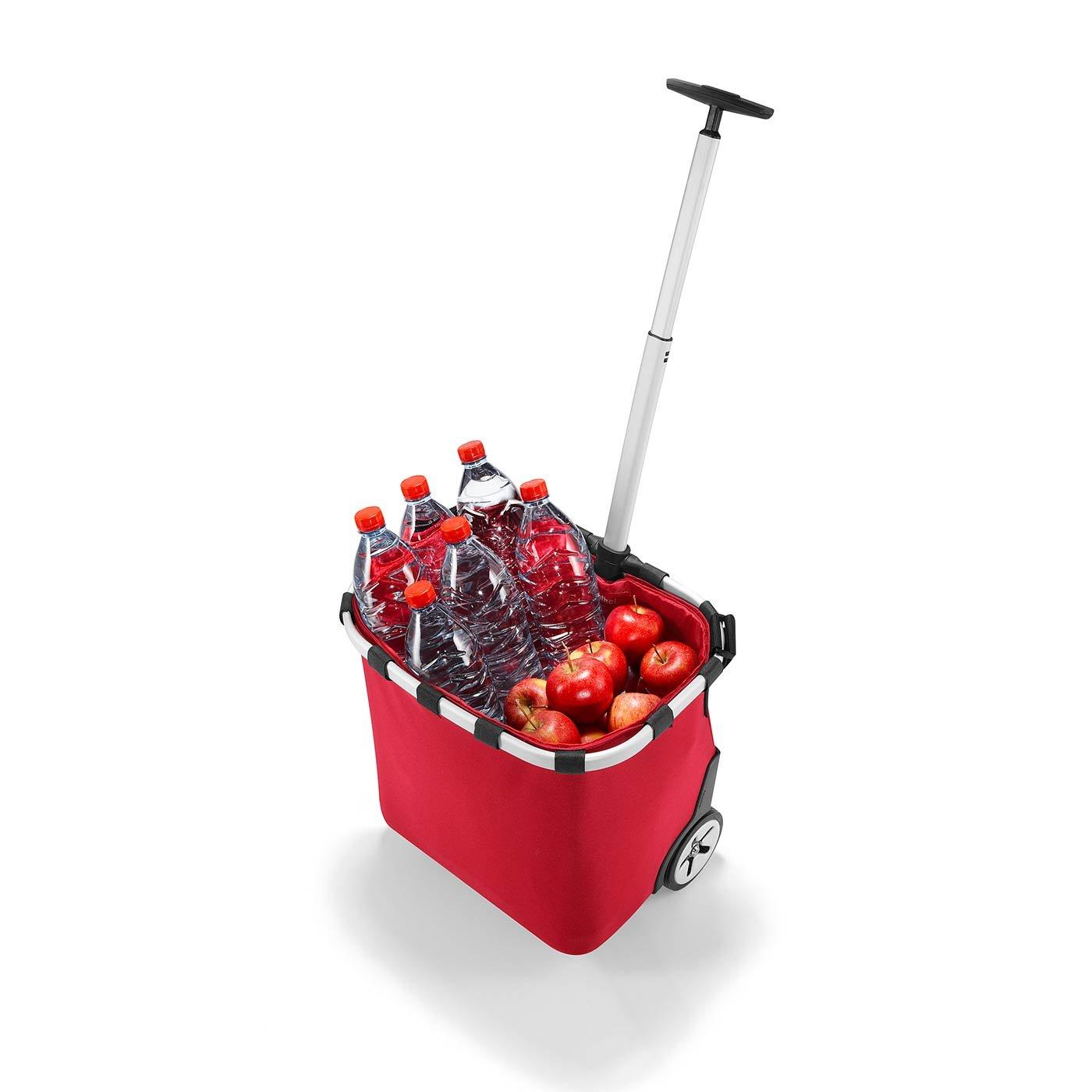 Reisenthel Carrycruiser Plus Case 2 Chariot de Courses /à roulettes Rouge
