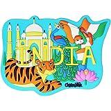 Chumbak India Taj Magnet