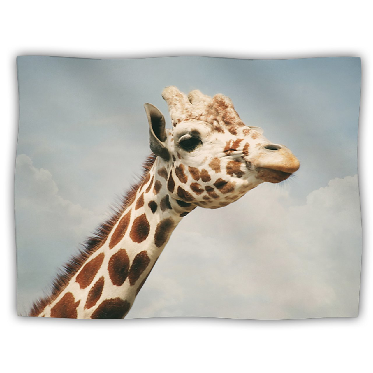 Kess InHouse Angie Turner Giraffe Animal Pet Blanket, 40 by 30-Inch
