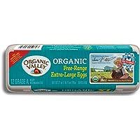 Organic Valley, Extra Large Brown Free Range Organic Eggs - Dozen (12 ct)