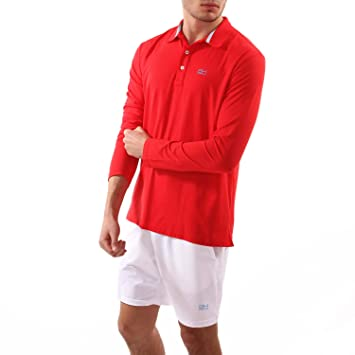SPORTKIND Boys & Mens Tennis/Golf/Sports Long Sleeve Polo Shirt ...