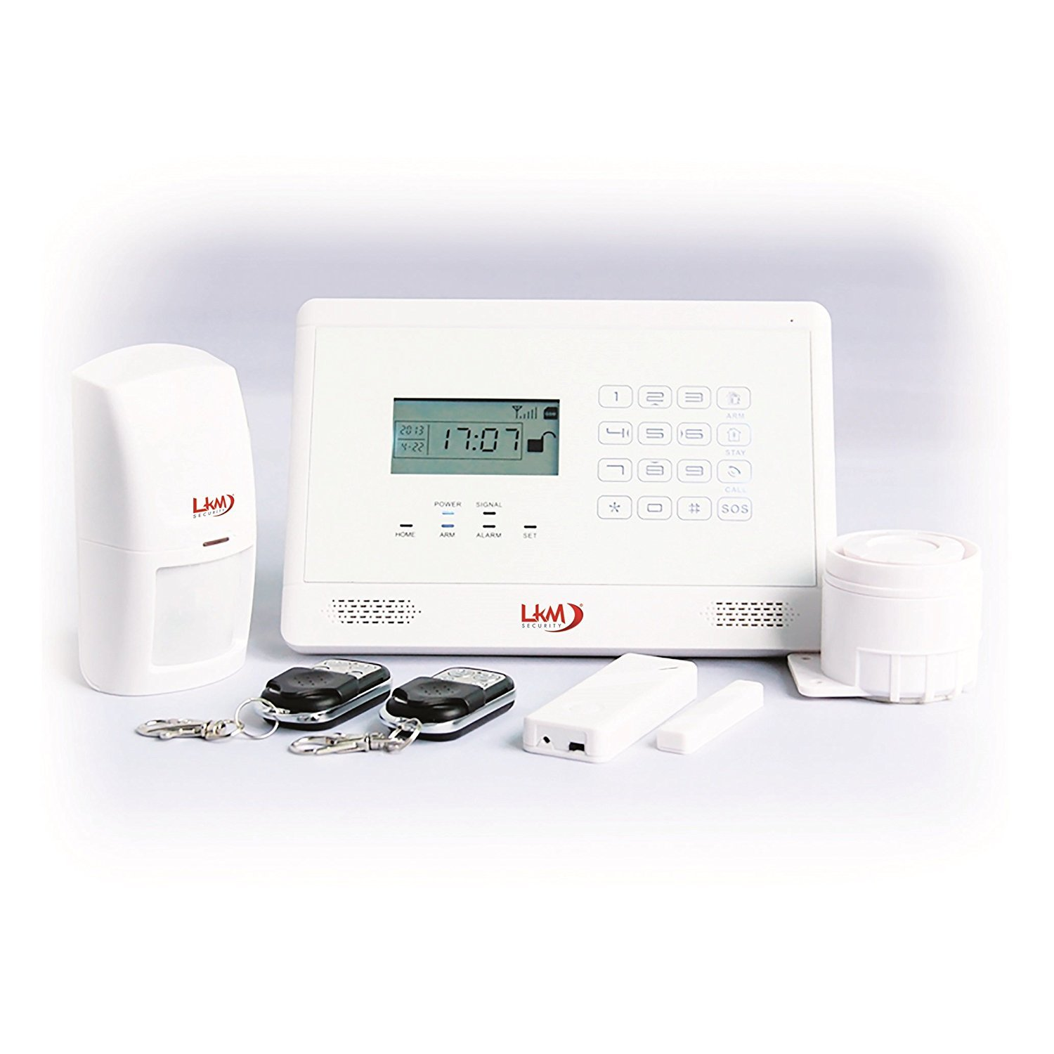 LKM Security YL007M2EB WG-Kit de Alarma Inalámbrica, gsm ...