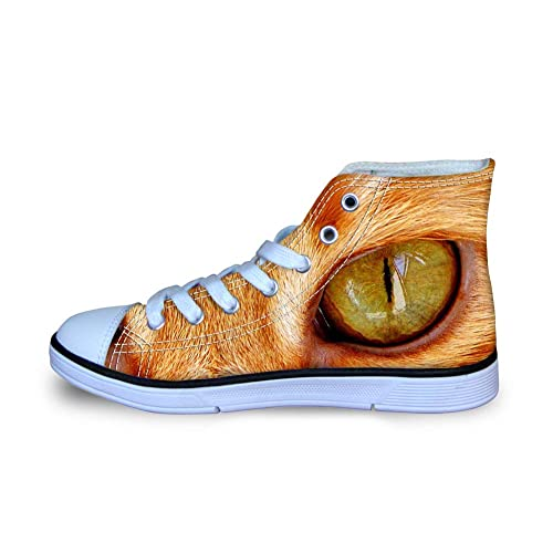 16ec51d1430c FOR U DESIGNS Lace-up Canvas Shoes for Kids Boys Girls School Sneaker  Comfortable Walking