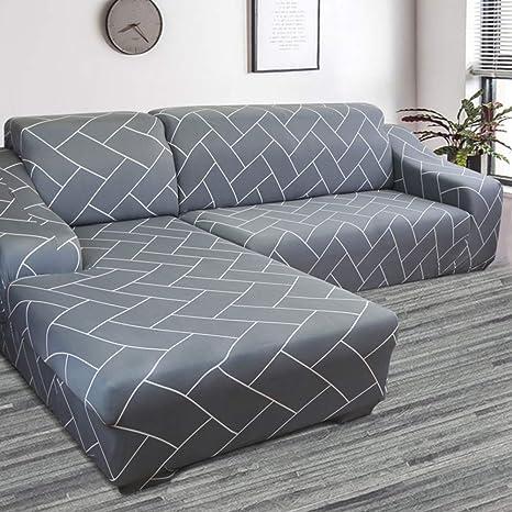 SAsagi Funda de sofá Estampada a Prueba de Polvo, Resistente ...