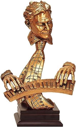 Music Treasures – Keyboard Player Sculpture