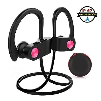 Bluetooth Auricular Inalámbrico deporte en auriculares in-ear auriculares bluetooth diadema IPX7 resistente al agua