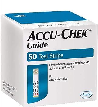 ACCU CHEK GUIDE - 100 Tiras para control glicemia - ACCUCHECK (4x25 Tiras): Amazon.es: Salud y cuidado personal