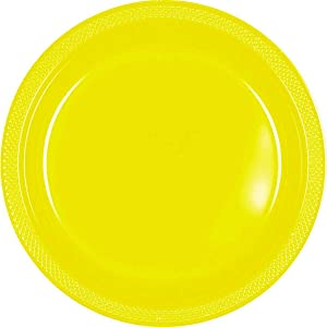 Amscan Sunshing Plastic party-plates, 9