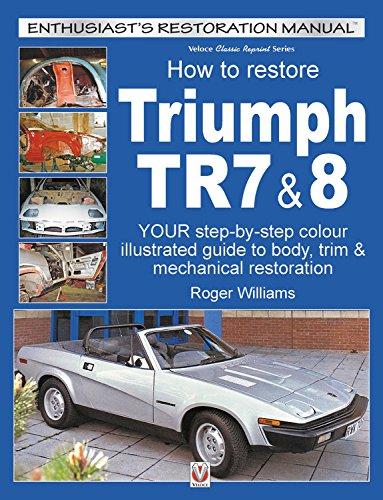 how to restore triumph tr7 8 enthusiast s restoration manual rh amazon com Truck Manual Service Manuals