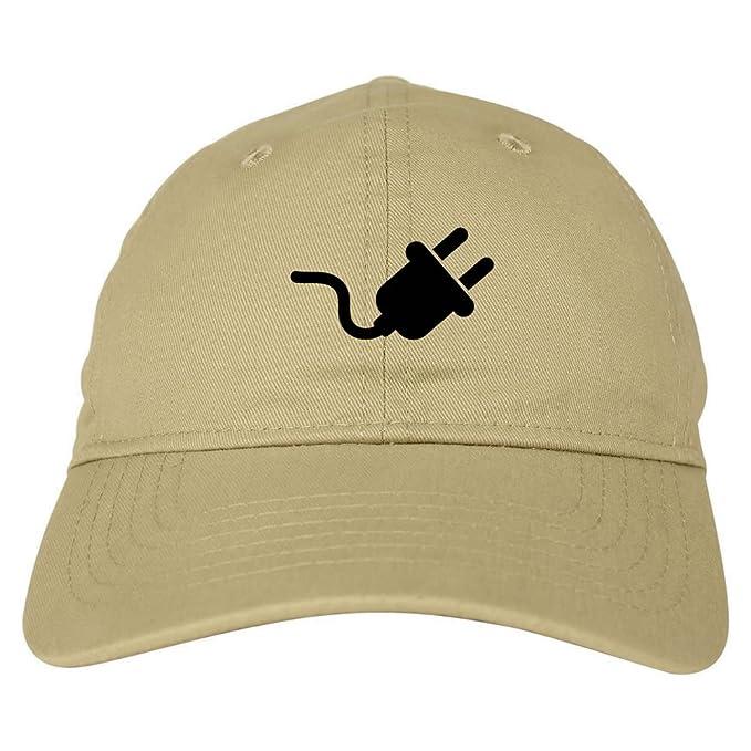 Amazon.com  The Plug Dealer Dad Hat 6 Panel Baseball Cap Beige  Clothing c5c325fb336