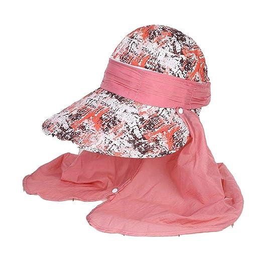Damas de Verano Sombrero para el Sol Sombrero al Aire Libre ...