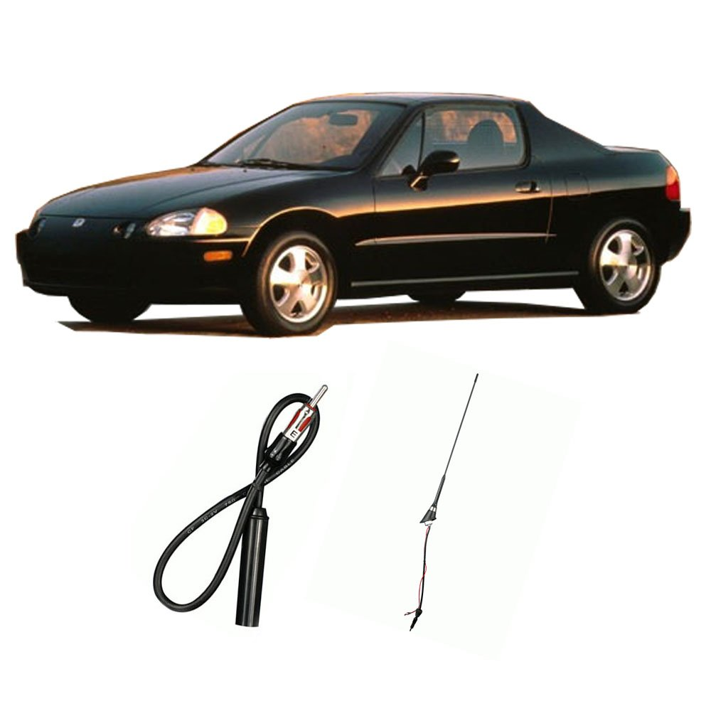 Amazon.com: Fits Honda Civic Del Sol 1993-1997 Factory Replacement Radio  Stereo Custom Antenna: Car Electronics