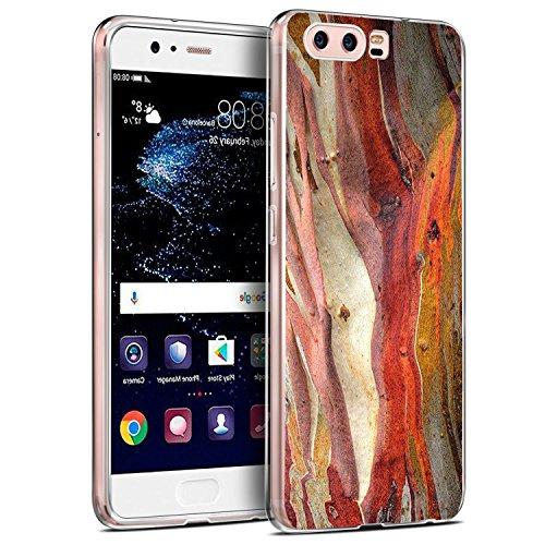 Huawei P9/P10 Funda Silicona Transparente Clear Vanki® Ultra Delgado TPU Case Soft Cover para Huawei P10/P9 Mármol Patrón Diseño Mármol 3
