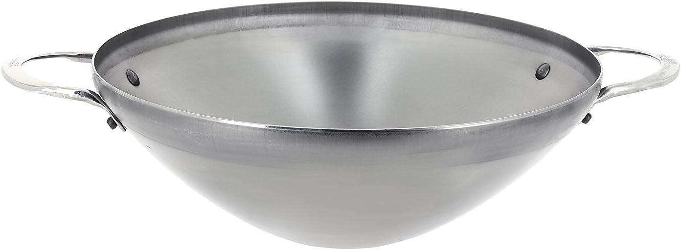 De Buyer 5619.28 Wok mineral b 2 asas di/ámetro 28 cm
