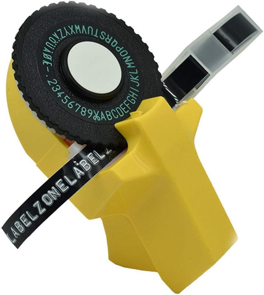 3D Free Size Schwarz Handgefertigter Mini-Drucker Schreibmaschine Buchstabenmaschine Kunststoff Pr/ägung