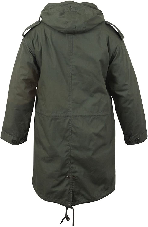 Military Style Parka Jacket
