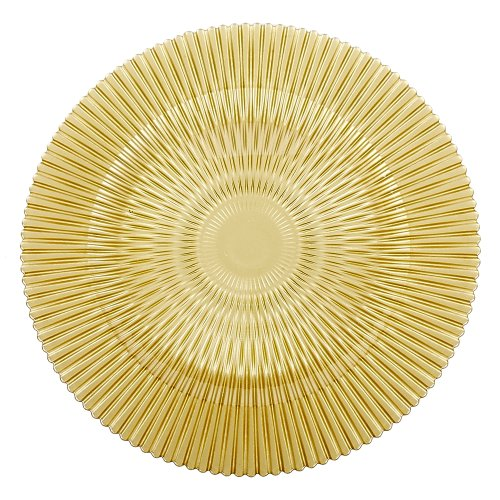 IMPULSE! Barcelona Charger, Gold, Set of (Gold Round Chop)