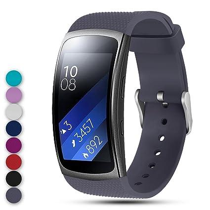 Feskio - Correa de Repuesto para Samsung Gear Fit2 Pro/Fit2 SM ...