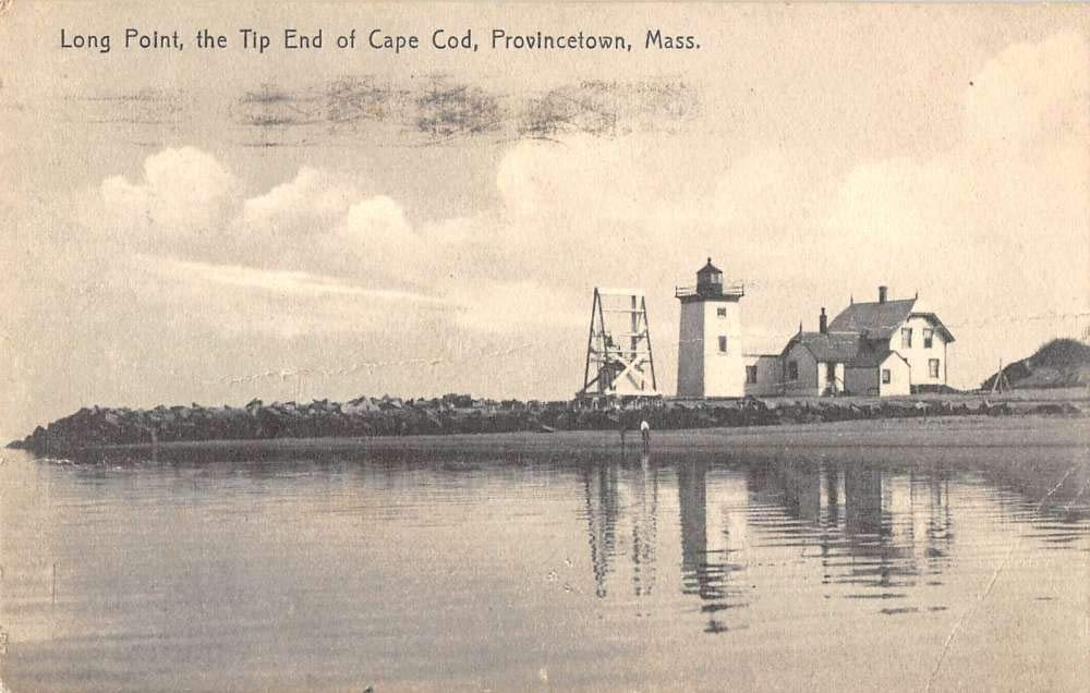 Provincetown Massachusetts Long Point tip of Cape Cod