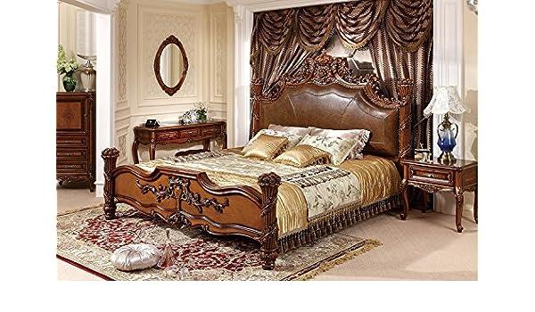Amazon.com: Ma Xiaoying bedroom sets.Solid wood frame ...