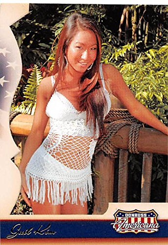 Gail Kim trading card (Wrestler) 2007 Donruss Americana - 2007 Card Americana Donruss