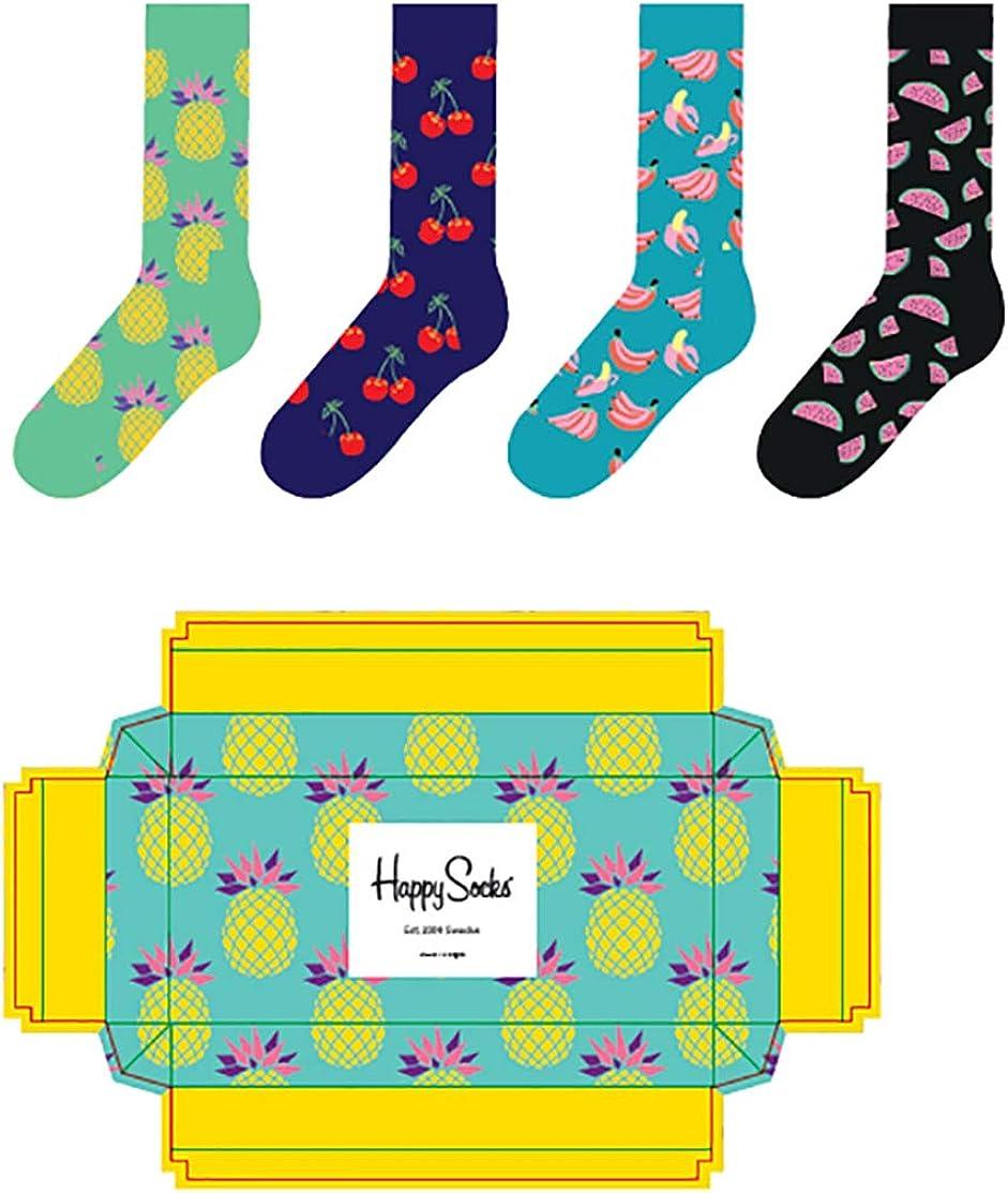 Happy Socks - Caja de regalo de frutas SXPIN09-7000 multicolor 41 ...