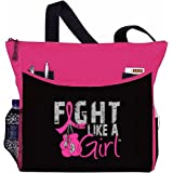 "Fight Like a Girl Boxing Glove Tote Bag ""Dakota"" - 9 Colors"