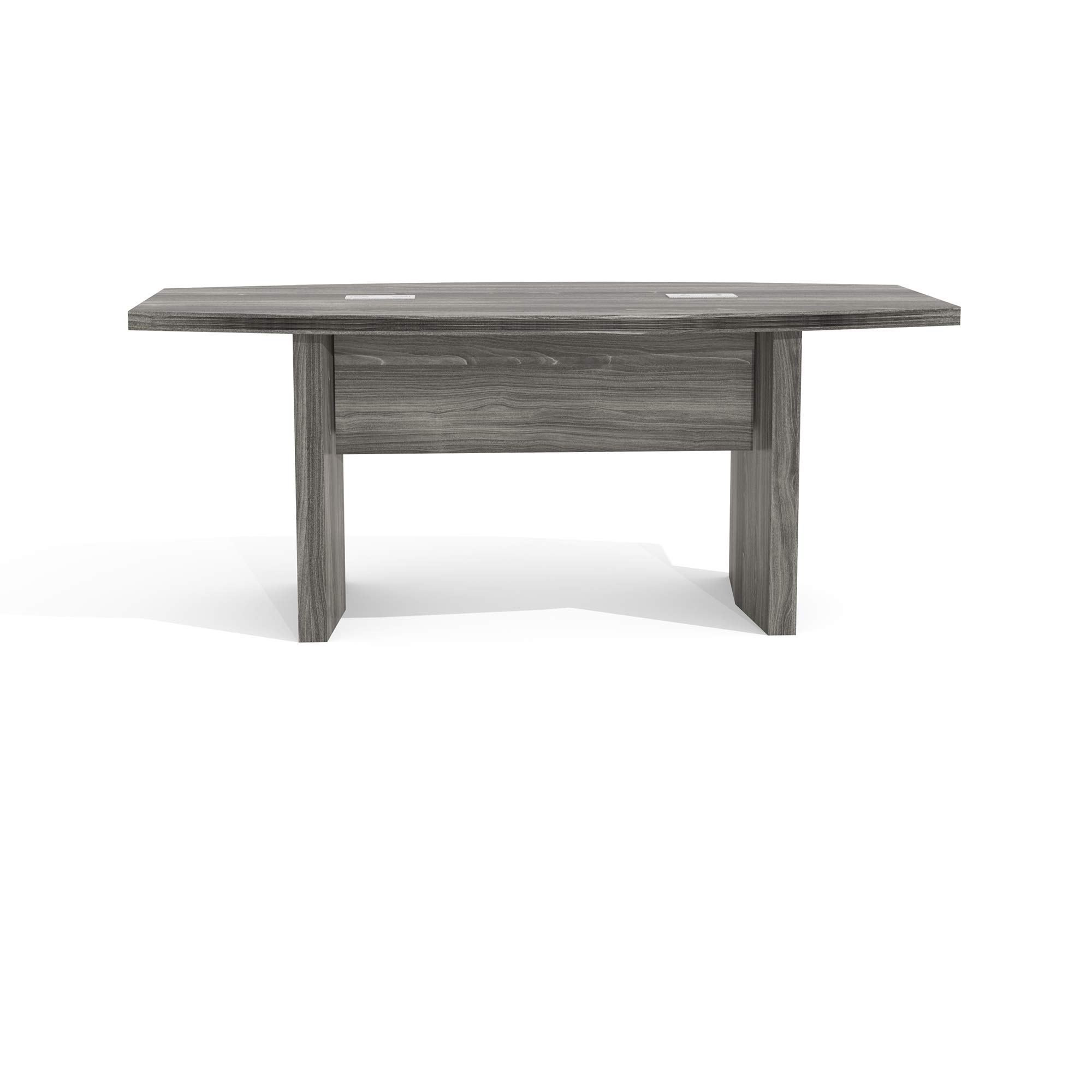 Mayline ACTB6LGS Aberdeen 6' Boat Shape Conference Table, Gray Steel Tf by Safco Products (Image #3)