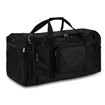 Monzana Gym Duffel Bag With Shoe Compartment Club Team Different Colours 90 L Sports Lightweight