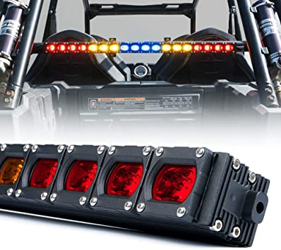 "Xprite 36/"" Offroad Rear Chase COB LED Strobe Light Bar for UTV ATV Yamaha Can-am"