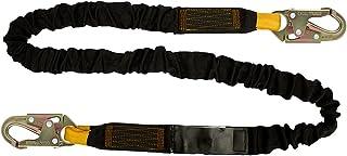 Fusion Climb Interne Bungee Fall Protection de sécurité Lanière en Acier HS avec Snap Crochets Taille Unique