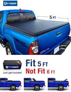 Tyger Auto TG BC3T1030 TRI FOLD Truck Bed Tonneau Cover 2005 2015 Toyota
