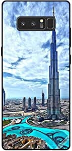 Cover For Samsung Galaxy Note8 - Burj Khalif Touching Clouds