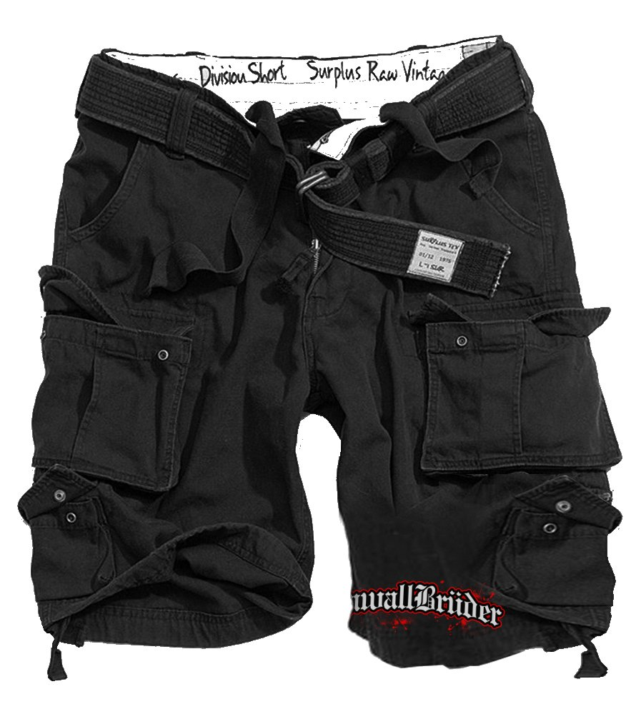 KrawallBrüder - Schriftzug Division-Shorts